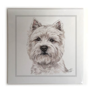 West Highland Terrier Dog Picture / Print