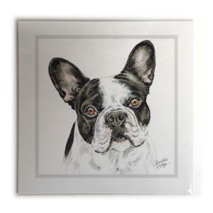 French Bulldog BW Dog Picture / Print