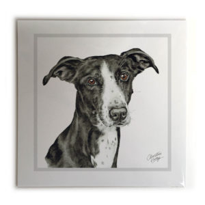 Lurcher Dog Picture / Print