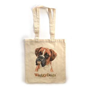 Boxer Tote Bag