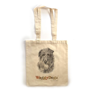 Deerhound Tote Bag