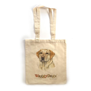 Golden Labrador Tote Bag