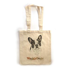 French Bulldog BW Tote Bag