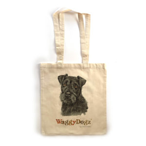 Patterdale Terrier Tote Bag
