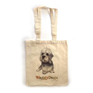 Dandie Dinmont Tote Bag