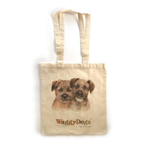 Border Terrier Puppies Tote Bag