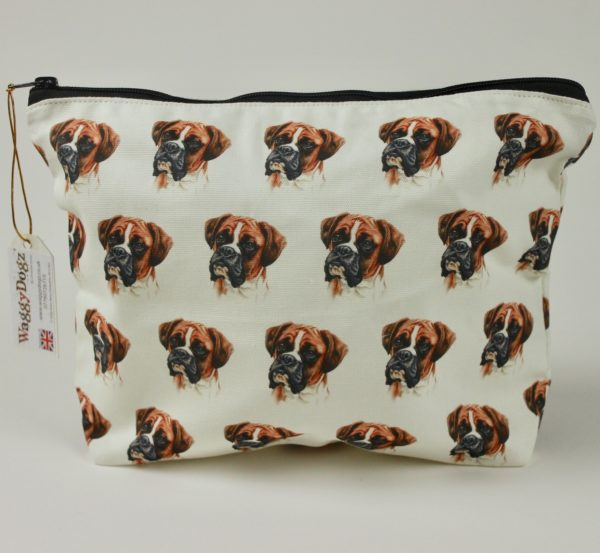 Washbag WBG-03 Boxer Dog
