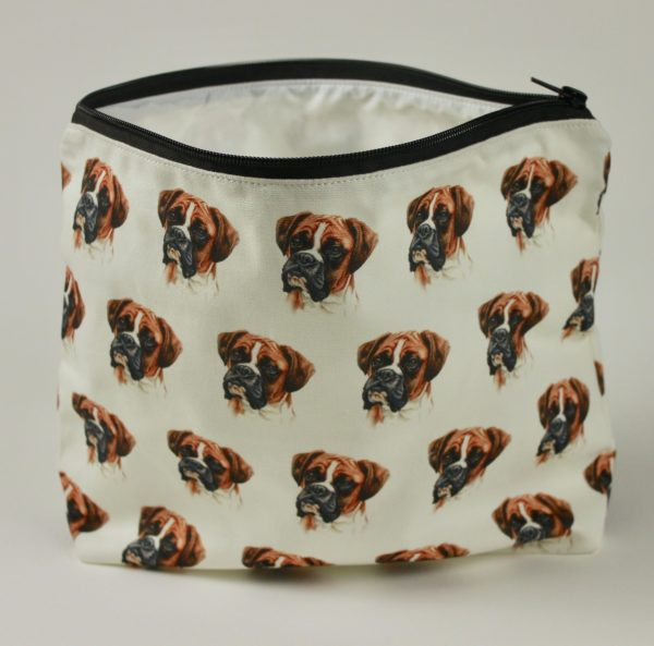 Boxer Dog Washbag WBG-03