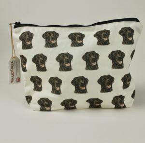 Washbag WBG-125 Black Labrador Dog