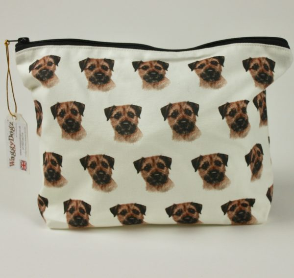 Washbag WBG-167 Border Terrier Dog