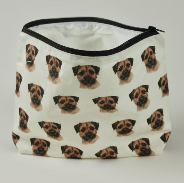 Border Terrier Dog Washbag WBG-167