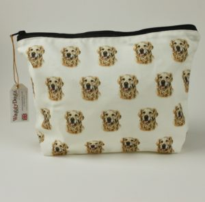 Washbag WBG-92 Golden Retreiver Dog